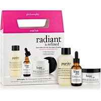 PhilosophyRadiant & Refined Trial Kit