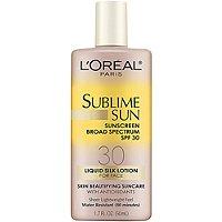 Sublime Sun Liquid Silk Lotion SPF 30 For Face