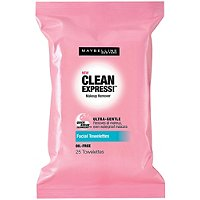MaybellineClean Express Facial Towelettes 25 Ct