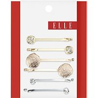 ElleMixed Metal Bobby Pins 6 Ct
