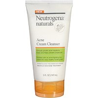 NeutrogenaNaturals Acne Cream Cleanser