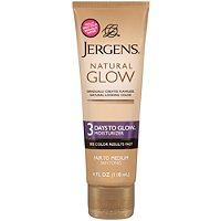 JergensNatural Glow 3 Days To Glow Moisturizer