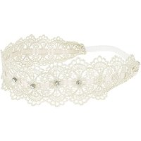 Capelli New YorkCrochet Lace Headwrap