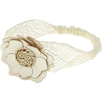 Capelli New YorkFaux Flower Lace Headwrap
