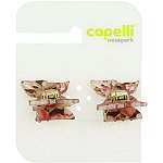 Capelli New YorkLaminated Butterfly Claw Clip 2 Ct