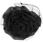 Capelli New YorkMesh Fabric Flower Headband