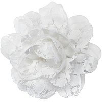 RivieraLarge Lace Flower Clip/Pin