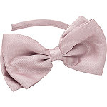 Mauve Bow Headband