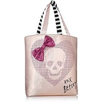 Betsey JohnsonOnline only! FREE Too Pretty Rose Gold tote with any Betsey Johnson purchase of $62 or more