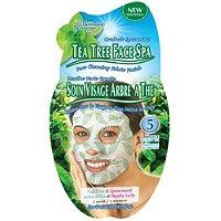 Crushed Spearmint Tea Tree Face Spa Mask