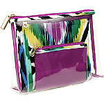 TrinaI Think Ikat Wild 3 Pc Purse Kit