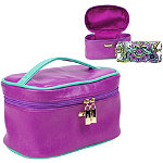 Pastel Perfect 2 Pc Traincase Set