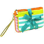 TrinaThe Right Stripe 2 Pc Wristlet