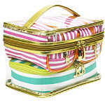 TrinaThe Right Stripe 4 Pc Fitted Traincase