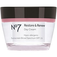 BootsNo 7 Restore & Renew Day Cream SPF 25