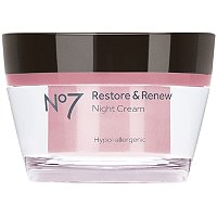 BootsNo 7 Restore & Renew Night Cream