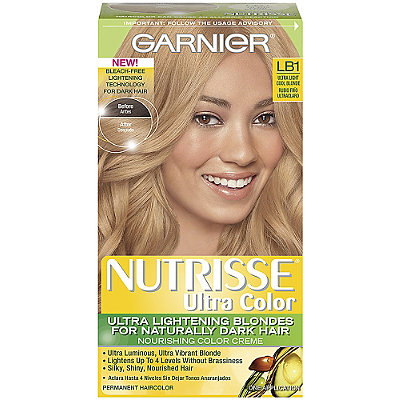 garnier nutrisse ultra color ultra light cool blonde lb1