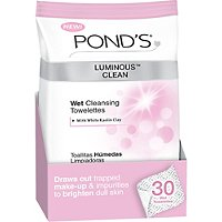 Luminous Clean Wet Cleansing Towelettes 30 Ct