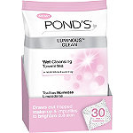 Pond'sLuminous Clean Wet Cleansing Towelettes 30 Ct