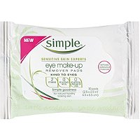 Kind To Eyes Eye Makeup Remover Pads 30 Ct