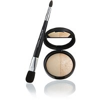 Laura Geller BeautyBaked Split Highlighter Duo with Brush