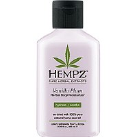 HempzTravel Size Vanilla Plum Herbal Body Moisturizer