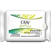 OlayFresh Effects (S'Wipe Out!) Refreshing Makeup Removal Cloths 20 Ct