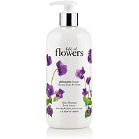 Field Of Flowers Violet Blossom Body Lotion