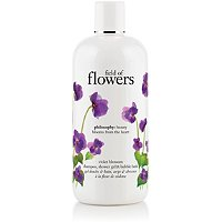 Field of Flowers Violet Blossom Shower Gel