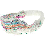 Capelli New YorkRetro Multicolor Slub Headwrap