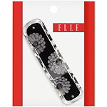 ElleBlack/Grey Inlay Barrette