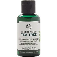 Online Only Travel Size Tea Tree Skin Clearing Facial Wash