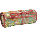 All For ColorPaisley Breeze Jewelry Roll