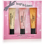 PhilosophyOnline Only Hugs & Kisses Lip Shine Trio