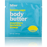BlissFREE Lemon and Sage Body Butter sample with any Bliss purchase