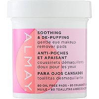 Soothing & De-puffing Gentle Eye Makeup Remover Pads