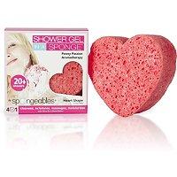 Heart Shaped Sponge & Body Wash