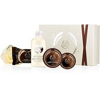 Coconut Shower, Scrub & Soften Collection