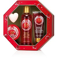 Cranberry Joy Shower, Scrub & Moisture Collection