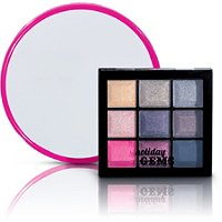 Holiday Gems Mirror and Eye Shadow Palette