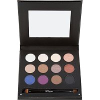 Luxe Anti-Aging High Performance Eye Shadow Pallet w/Dual Brush