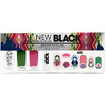 The New BlackFrom Russia With Love Matroyshka Doll Nail Polish Strips