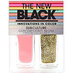 The New BlackSubculture Contemporary Neons 2Pc Nail Set