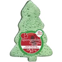 Holly Berry Pine Body Wash Sponge