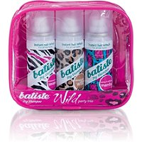 Batiste Dry Shampoo Wild Trio Pack