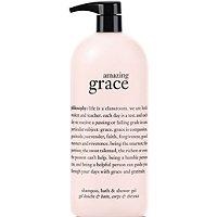 Jumbo Amazing Grace Perfumed Shampoo, Shower Gel And Bubble Bath
