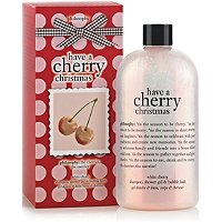 Have A Cherry Christmas Shower Gel