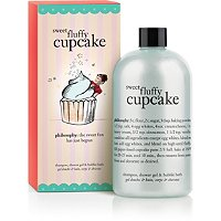 Sweet Fluffy Cupcake Shower Gel