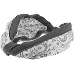 Capelli New YorkPaisley Print Headband Grey