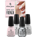 China GlazeRemix Your French 4pc Set
